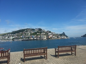 Kingswear from the Dartmouth Arms