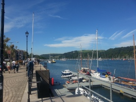 Looking upriver from the Town Jetty, Dartmouth