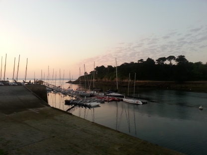 Visitor's Pontoon at Douarnenez