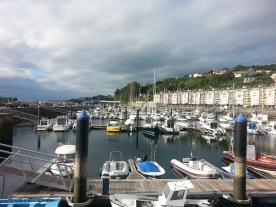 The marina, Viveiro