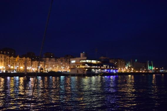 """The """"Friendly Yacht Club,"""" Santander"""