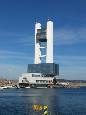 Impressive Harbour Control Office at A Coruna