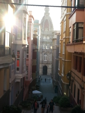 Back streets of Coruna