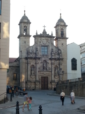 Church in Coruna