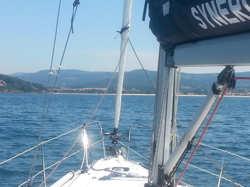 Approaching Baiona