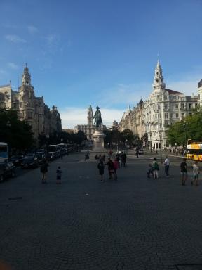 Central square, Old Porto
