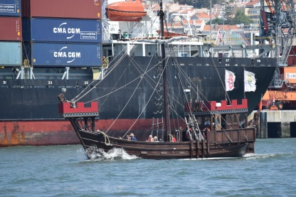 Replica Sailing Ship, Tagus River
