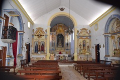 Inside Ferrugado Church