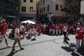 Casemates Square, Gibraltar National Day