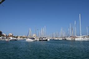 View across Torrevieja Harbour