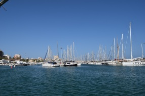 View across Torrevieja Harbour