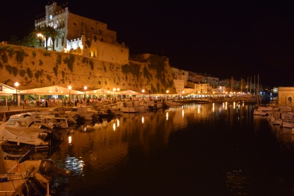 Ciutadella at Night