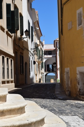 Back street in Mahon